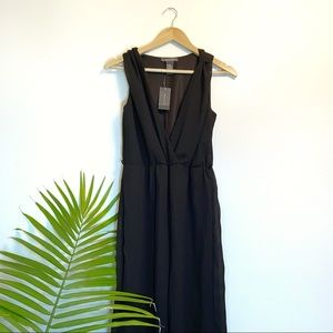 NWT SUZY SHIER Black Jumpsuit